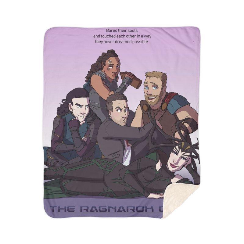 The Ragnarok Club Home Sherpa Blanket Blanket by Stirvino Lady's Artist Shop
