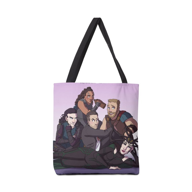 The Ragnarok Club Accessories Tote Bag Bag by Stirvino Lady's Artist Shop