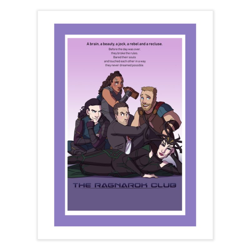 The Ragnarok Club Home Fine Art Print by Stirvino Lady's Artist Shop