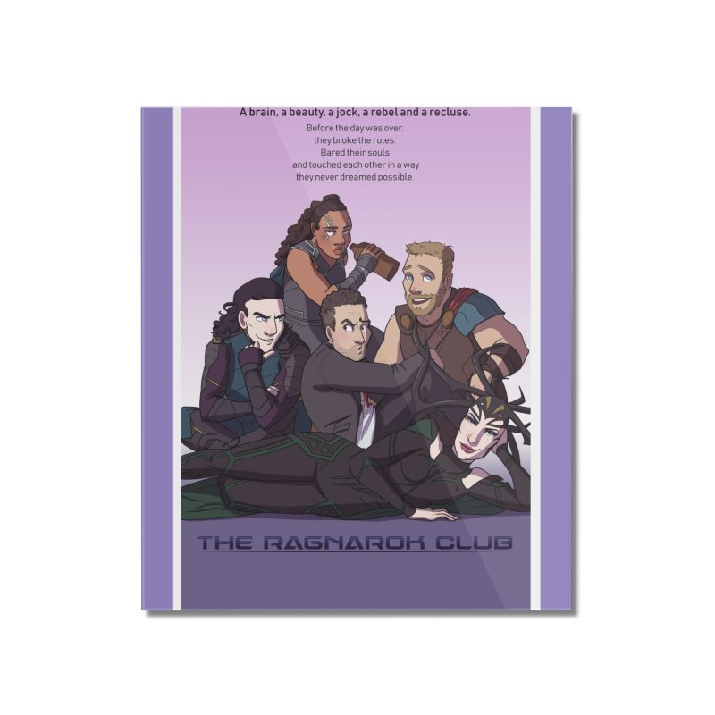 The Ragnarok Club Home Mounted Acrylic Print by Stirvino Lady's Artist Shop