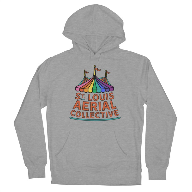 Color Rainbow Logo Women's Pullover Hoody by St. Louis Aerial Collective