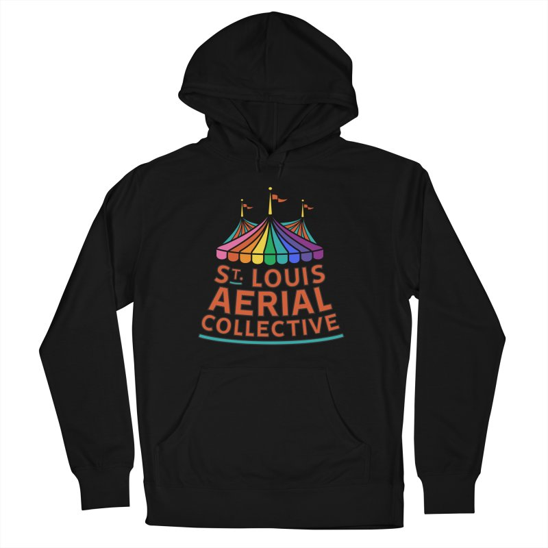 Color Rainbow Logo Women's French Terry Pullover Hoody by St. Louis Aerial Collective