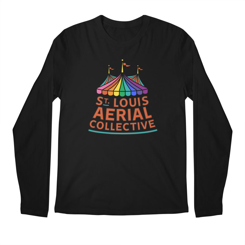 Color Rainbow Logo Men's Regular Longsleeve T-Shirt by St. Louis Aerial Collective