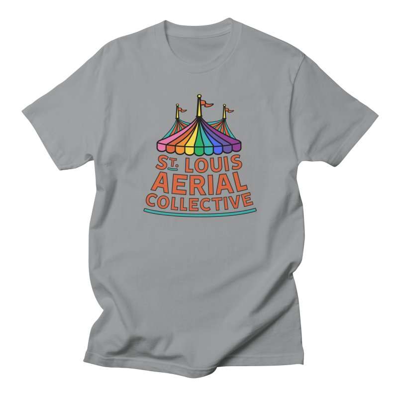 Color Rainbow Logo Women's Regular Unisex T-Shirt by St. Louis Aerial Collective