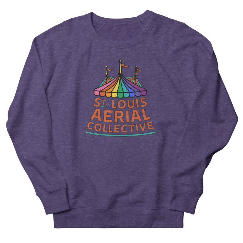 Color Rainbow Logo Women's French Terry Sweatshirt by St. Louis Aerial Collective