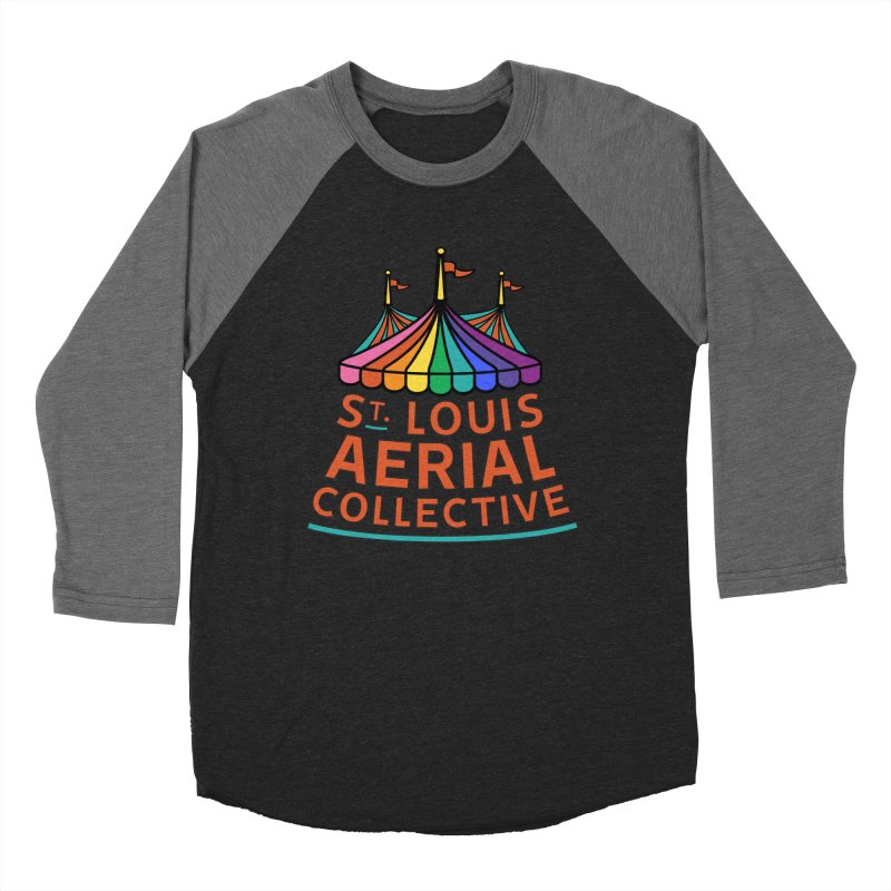 Color Rainbow Logo Women's Baseball Triblend Longsleeve T-Shirt by St. Louis Aerial Collective