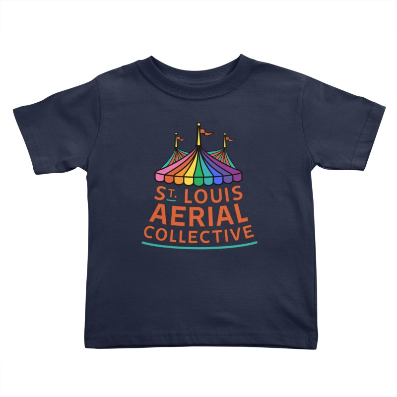 Color Rainbow Logo Kids Toddler T-Shirt by St. Louis Aerial Collective