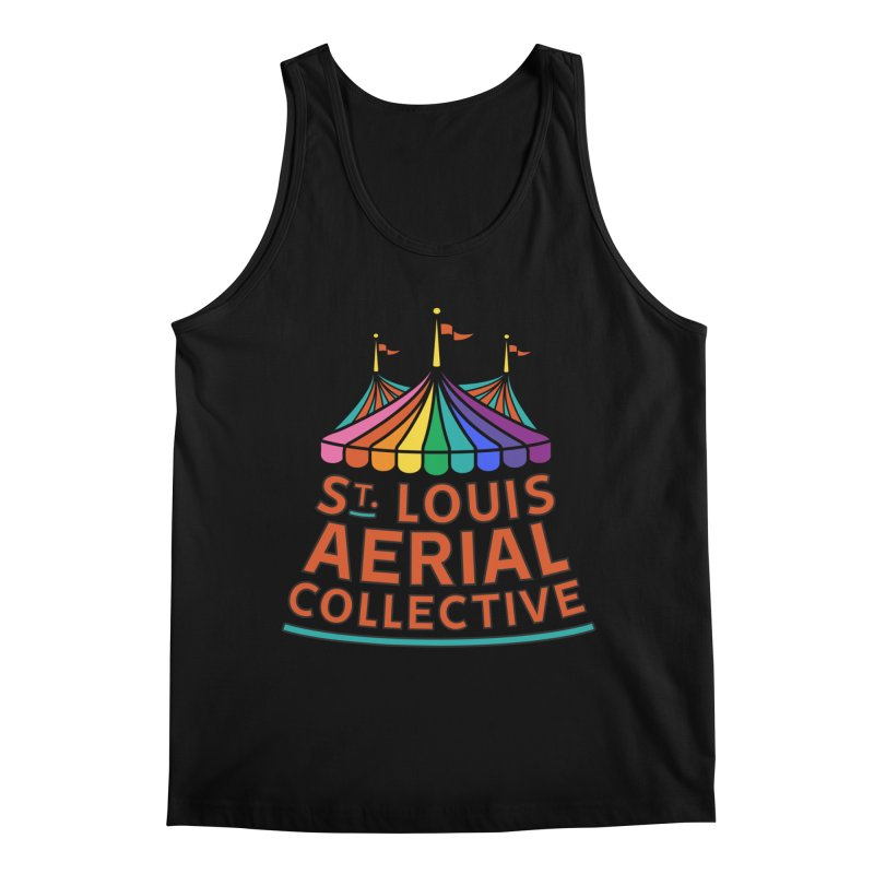 Color Rainbow Logo Men's Regular Tank by St. Louis Aerial Collective