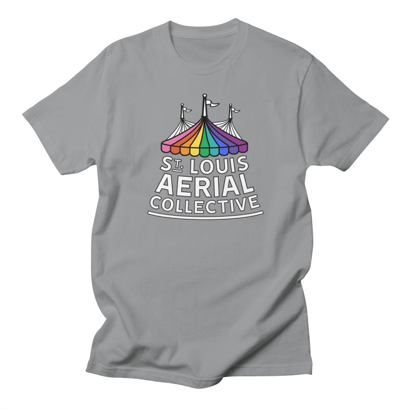 B&W Rainbow Logo Women's Regular Unisex T-Shirt by St. Louis Aerial Collective