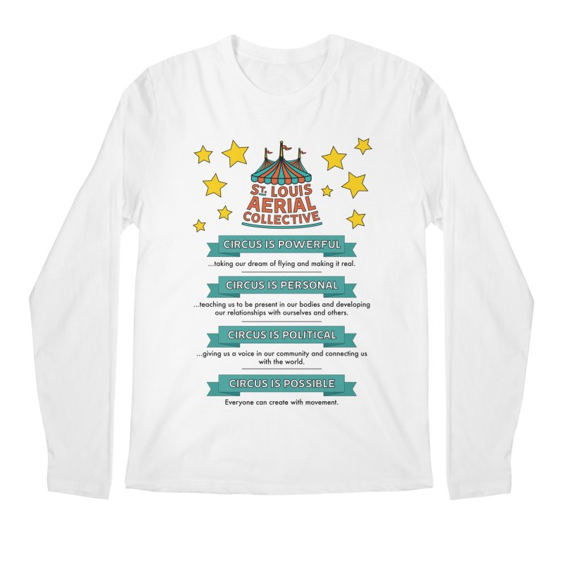 SLAC Mission--color Men's Regular Longsleeve T-Shirt by St. Louis Aerial Collective