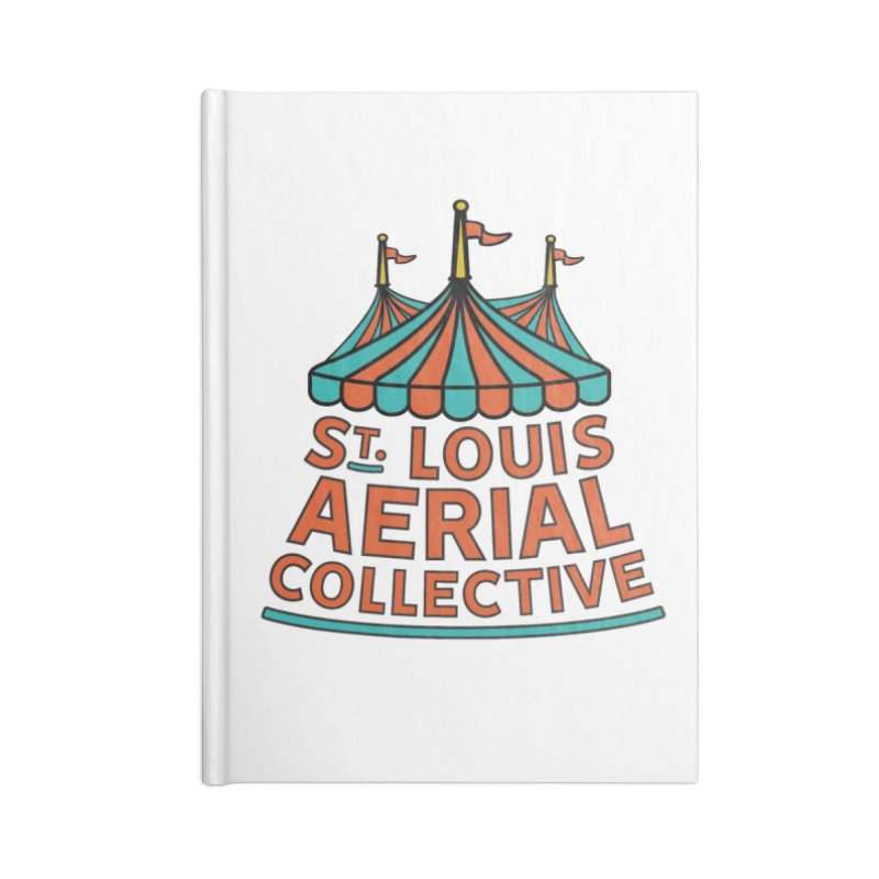 SLAC Classic Logo Accessories Lined Journal Notebook by St. Louis Aerial Collective