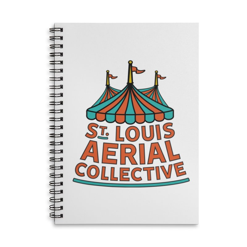 SLAC Classic Logo Accessories Lined Spiral Notebook by St. Louis Aerial Collective