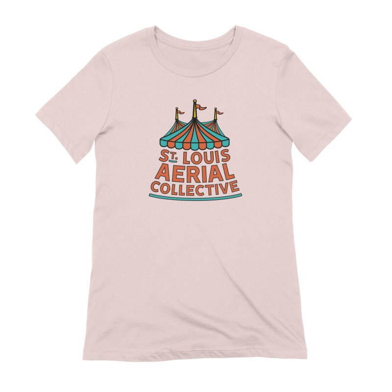 SLAC Classic Logo Women's Extra Soft T-Shirt by St. Louis Aerial Collective