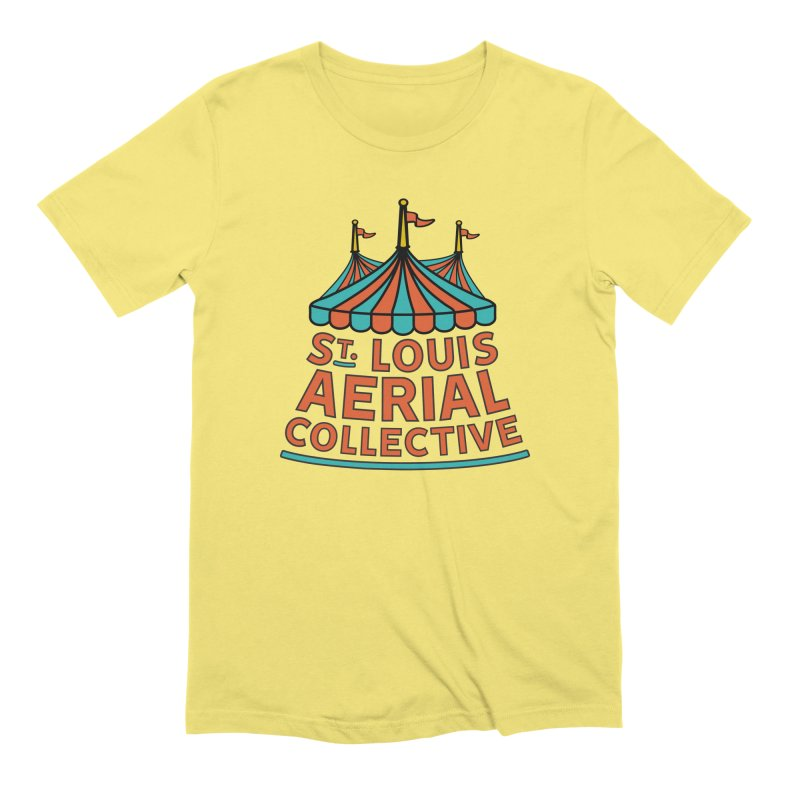 SLAC Classic Logo Men's Extra Soft T-Shirt by St. Louis Aerial Collective