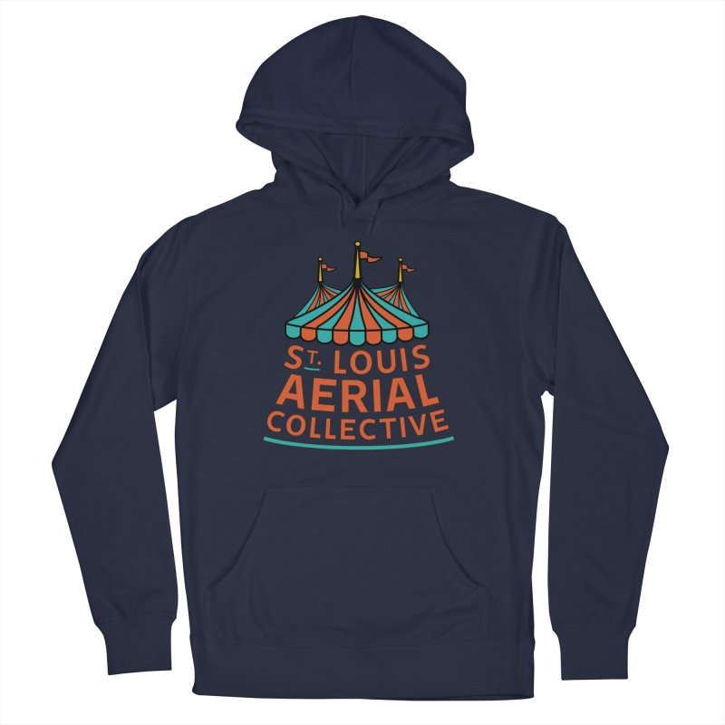 SLAC Classic Logo Men's French Terry Pullover Hoody by St. Louis Aerial Collective