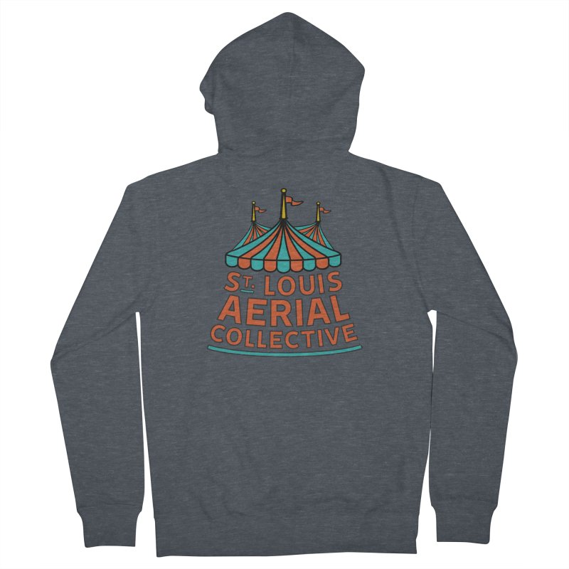 SLAC Classic Logo Men's French Terry Zip-Up Hoody by St. Louis Aerial Collective