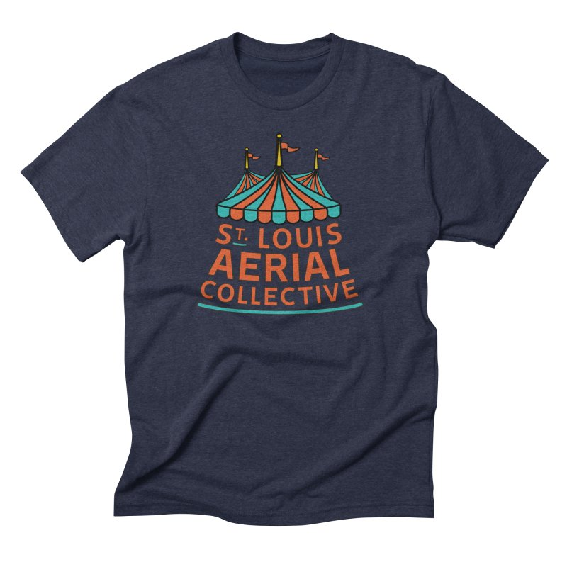 SLAC Classic Logo Men's Triblend T-Shirt by St. Louis Aerial Collective