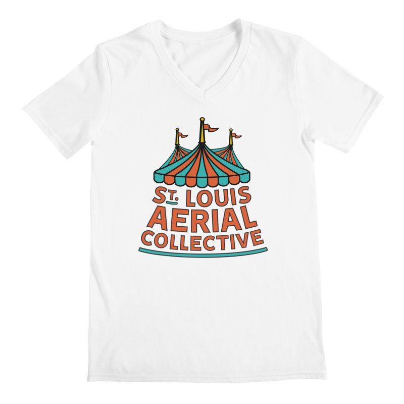 SLAC Classic Logo Men's Regular V-Neck by St. Louis Aerial Collective