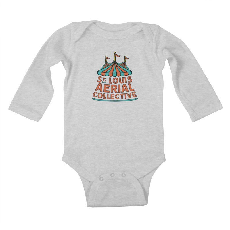 SLAC Classic Logo Kids Baby Longsleeve Bodysuit by St. Louis Aerial Collective
