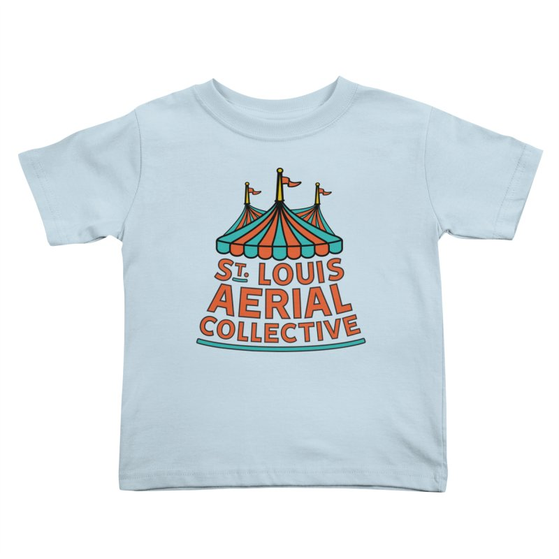 SLAC Classic Logo Kids Toddler T-Shirt by St. Louis Aerial Collective