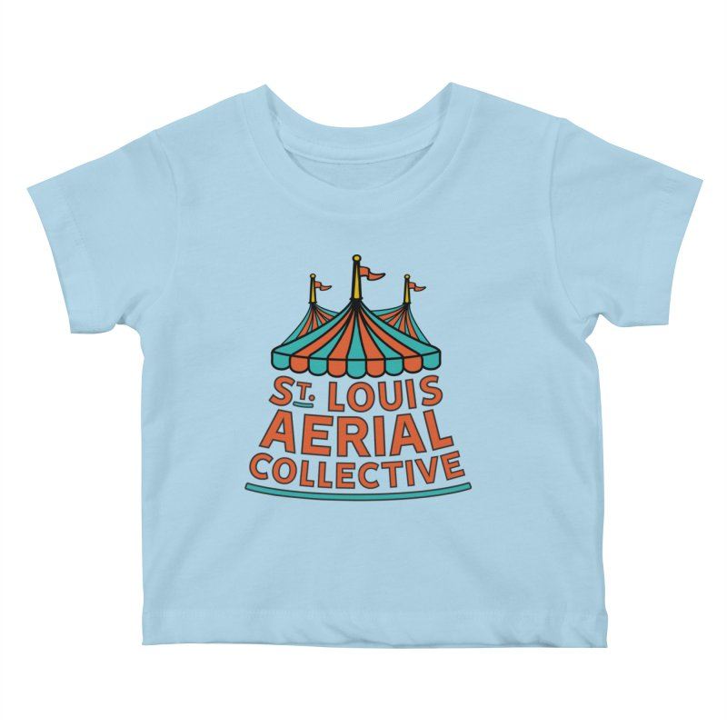 SLAC Classic Logo Kids Baby T-Shirt by St. Louis Aerial Collective