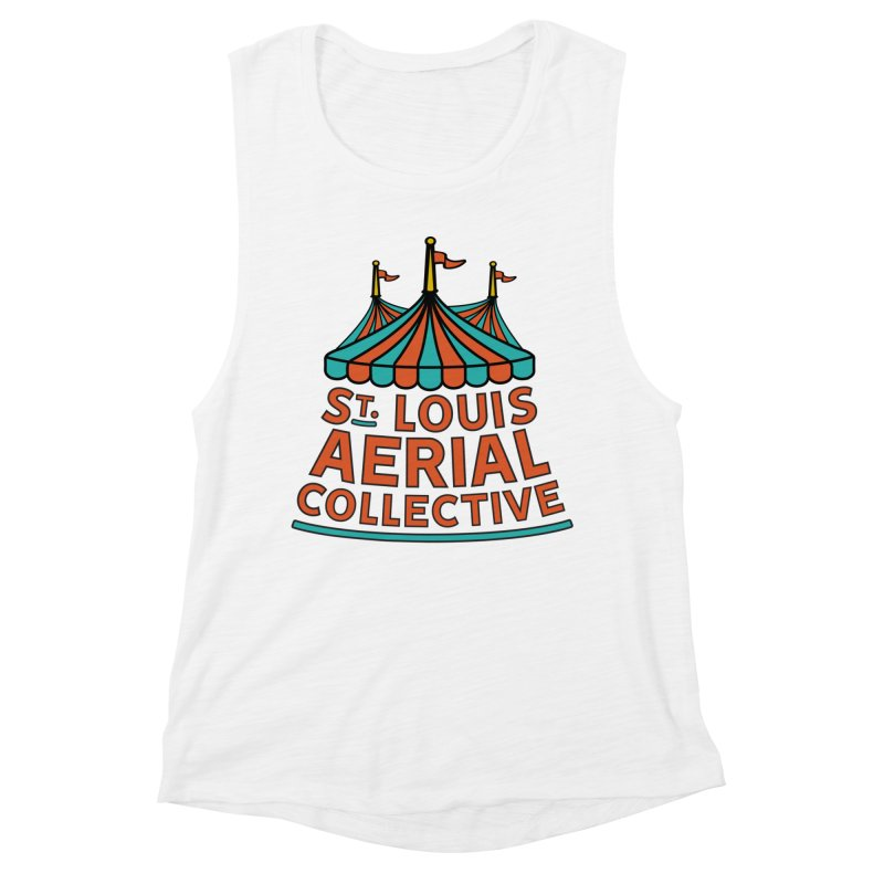 SLAC Classic Logo Women's Muscle Tank by St. Louis Aerial Collective