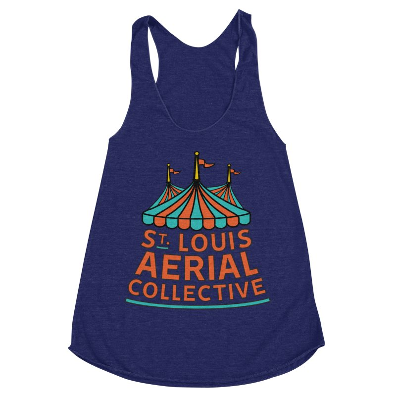 SLAC Classic Logo Women's Racerback Triblend Tank by St. Louis Aerial Collective