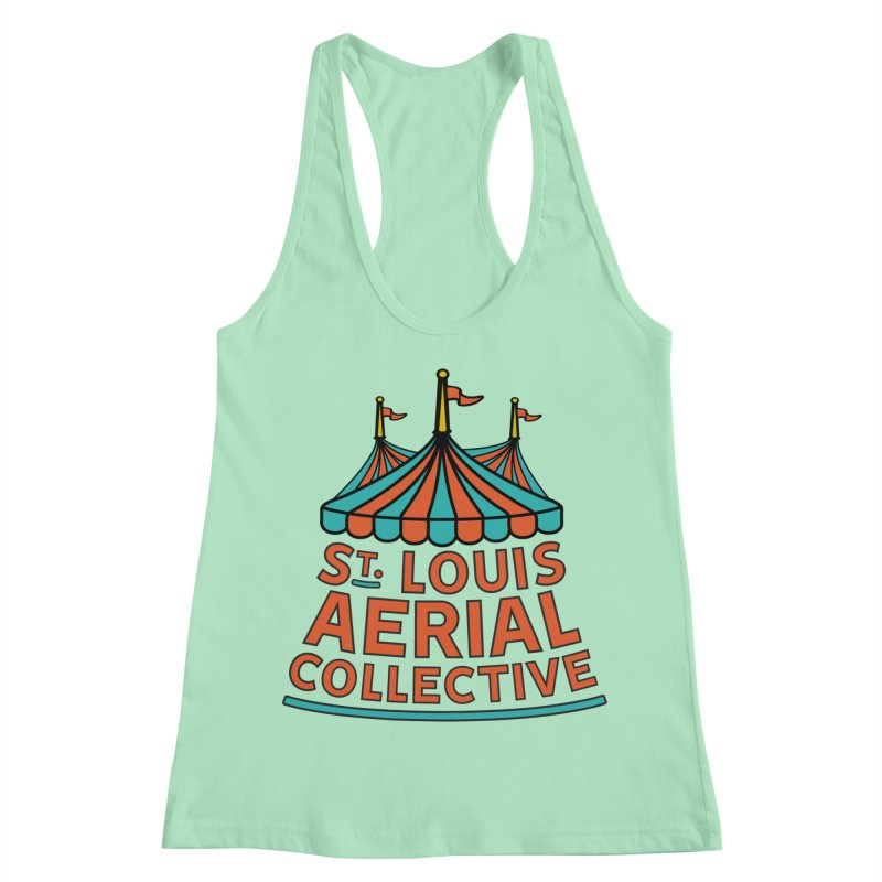SLAC Classic Logo Women's Racerback Tank by St. Louis Aerial Collective