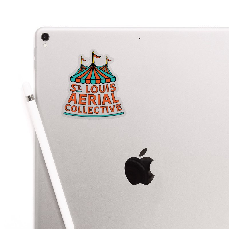 SLAC Classic Logo Accessories Sticker by St. Louis Aerial Collective