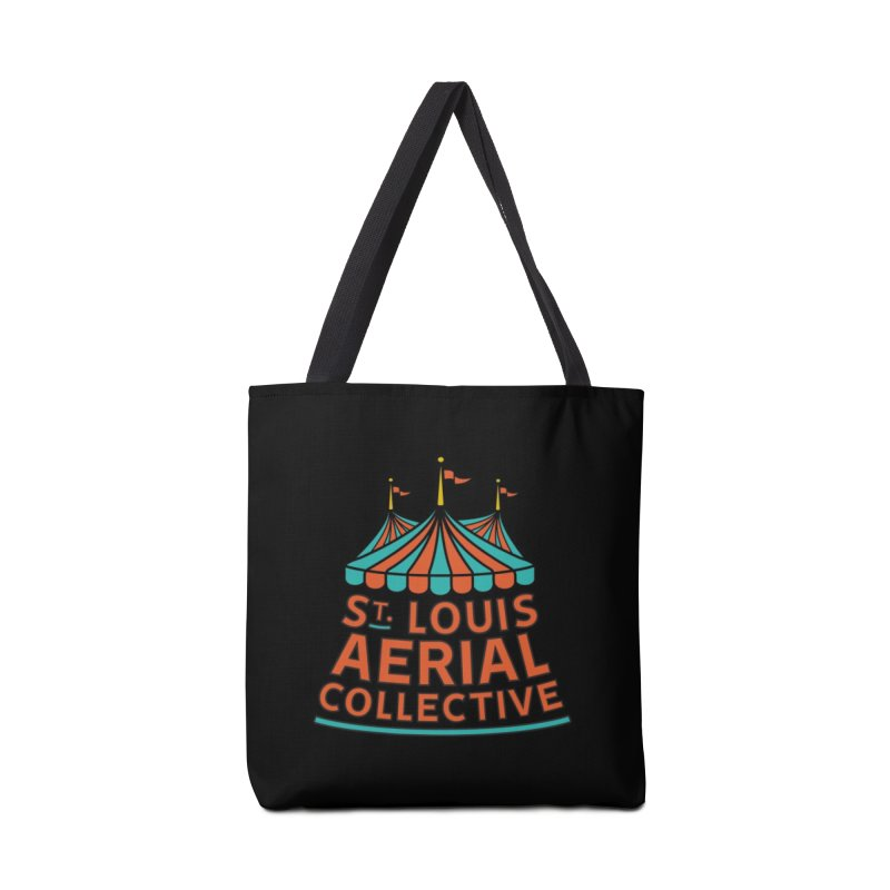 SLAC Classic Logo Accessories Tote Bag Bag by St. Louis Aerial Collective