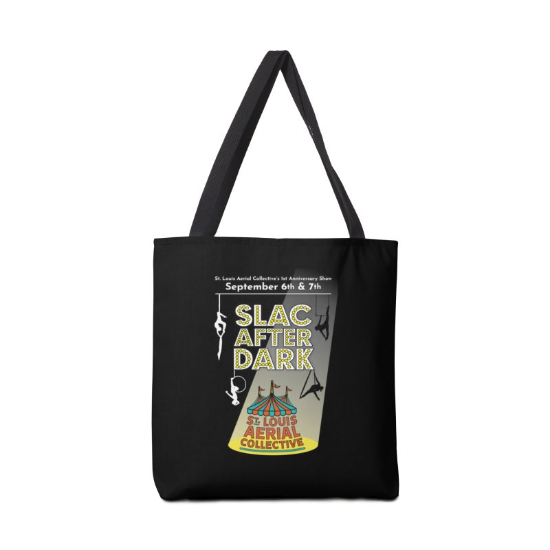 SLAC After Dark Accessories Tote Bag Bag by St. Louis Aerial Collective