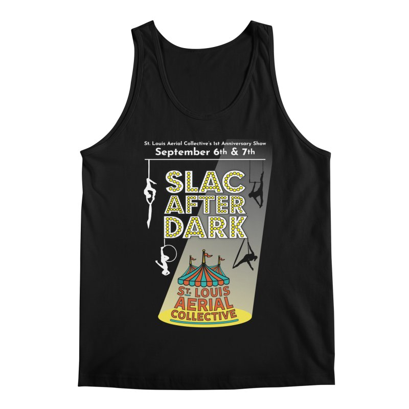 SLAC After Dark Men's Regular Tank by St. Louis Aerial Collective