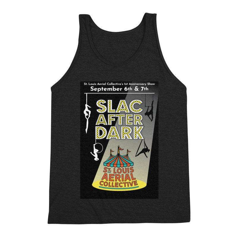 SLAC After Dark Men's Triblend Tank by St. Louis Aerial Collective