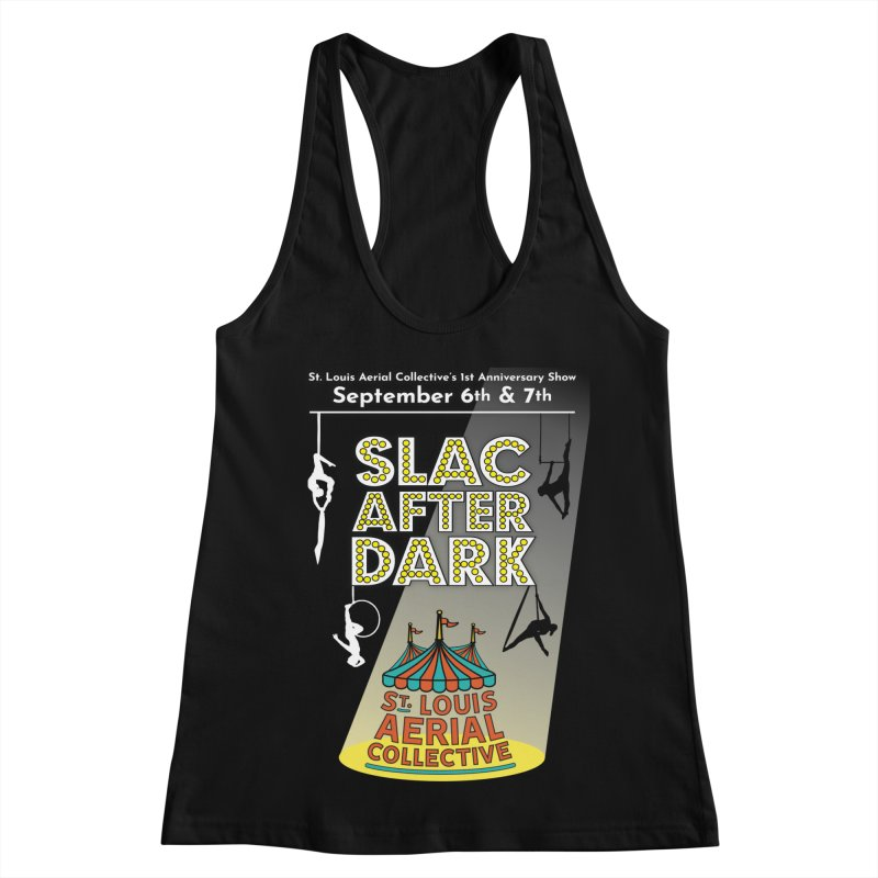 SLAC After Dark Women's Racerback Tank by St. Louis Aerial Collective