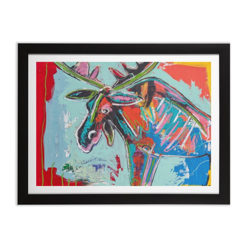 He was a healer. And full of gossip. Home Framed Fine Art Print by stobo's Artist Shop