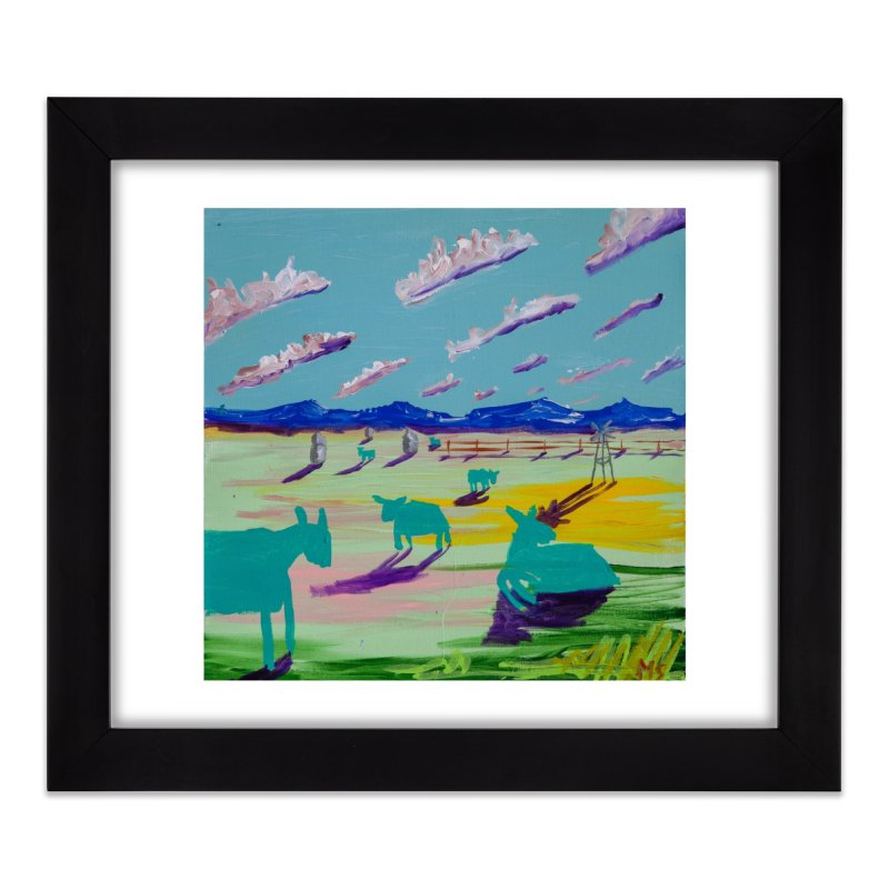 the clouds shifted so much so that they shifted us too Home Framed Fine Art Print by stobo's Artist Shop