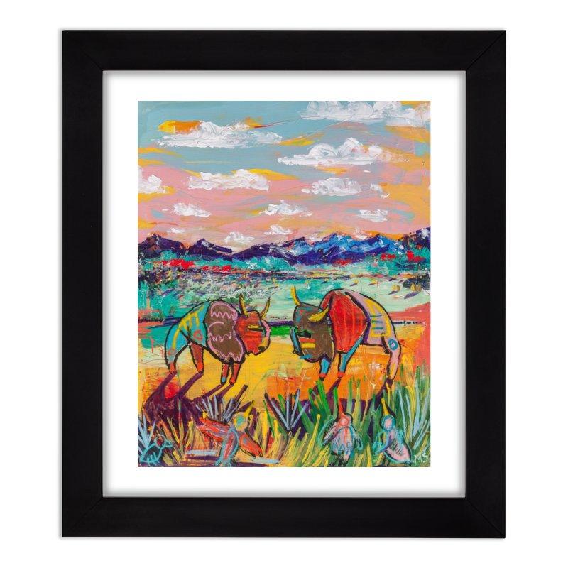 wild things Home Framed Fine Art Print by stobo's Artist Shop