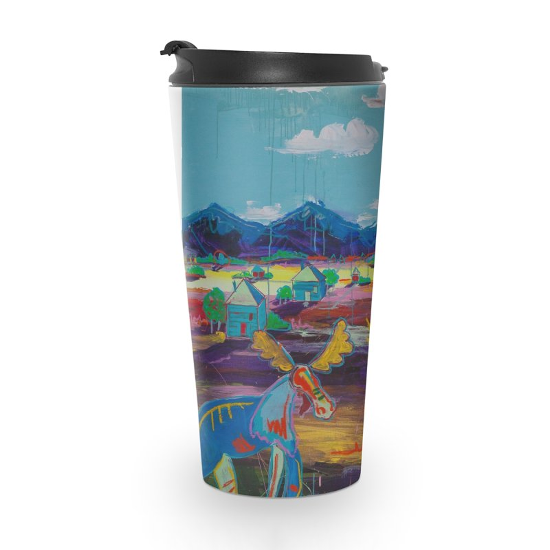 wild things grow Accessories Travel Mug by stobo's Artist Shop