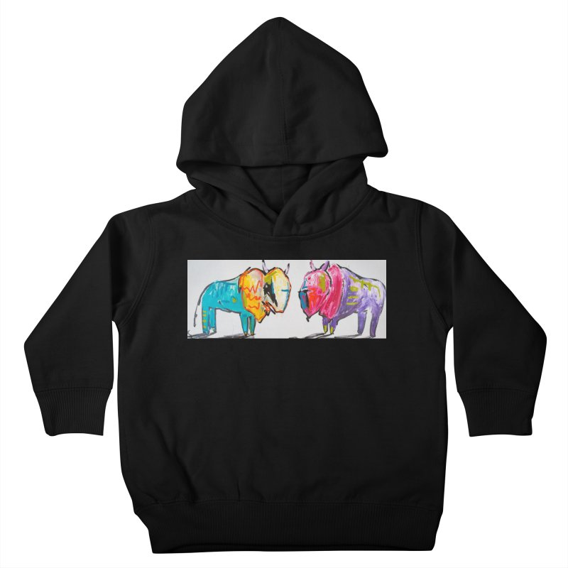 brother Kids Toddler Pullover Hoody by stobo's Artist Shop