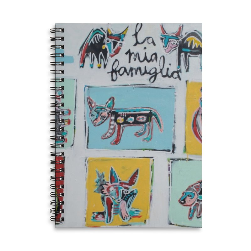 my familia Accessories Notebook by stobo's Artist Shop