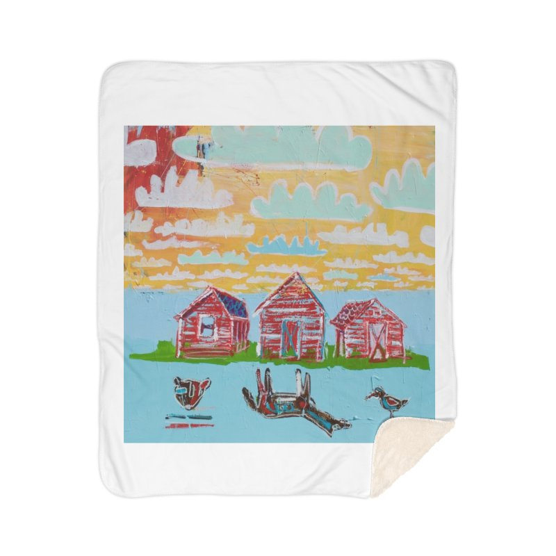 dream upsidedown Home Blanket by stobo's Artist Shop