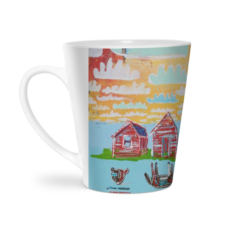 dream upsidedown Accessories Latte Mug by stobo's Artist Shop
