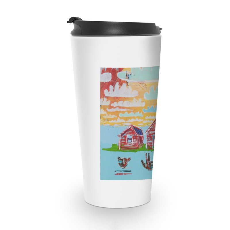 dream upsidedown Accessories Travel Mug by stobo's Artist Shop