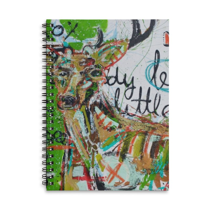 oh dear Accessories Lined Spiral Notebook by stobo's Artist Shop