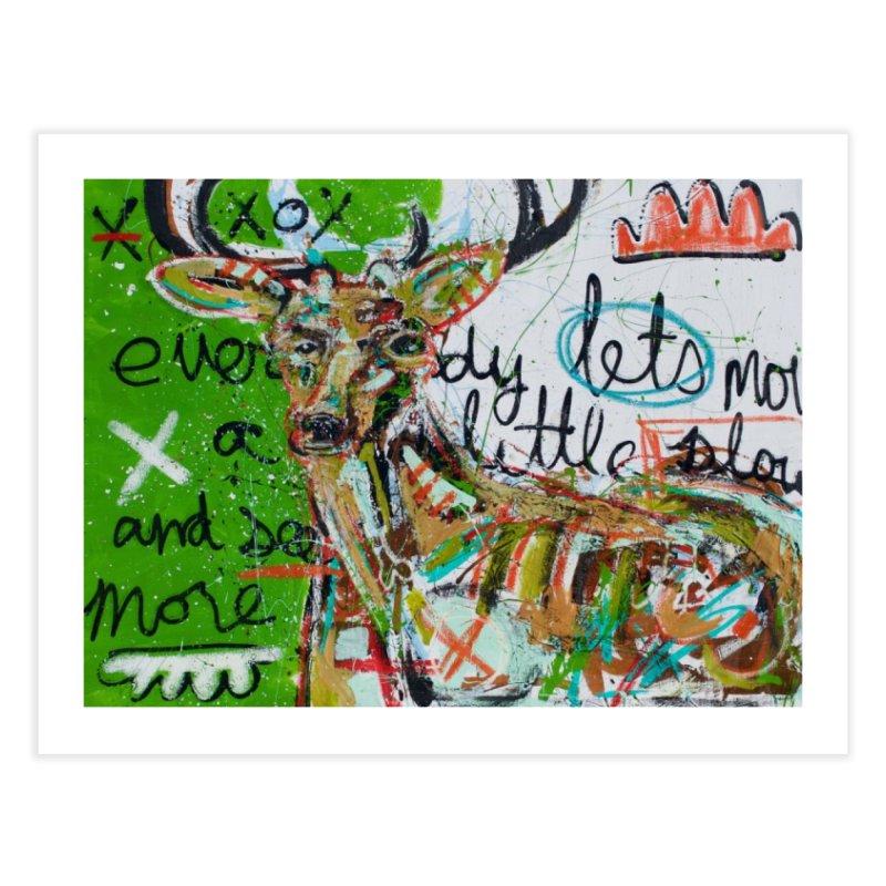 oh dear Home Fine Art Print by stobo's Artist Shop
