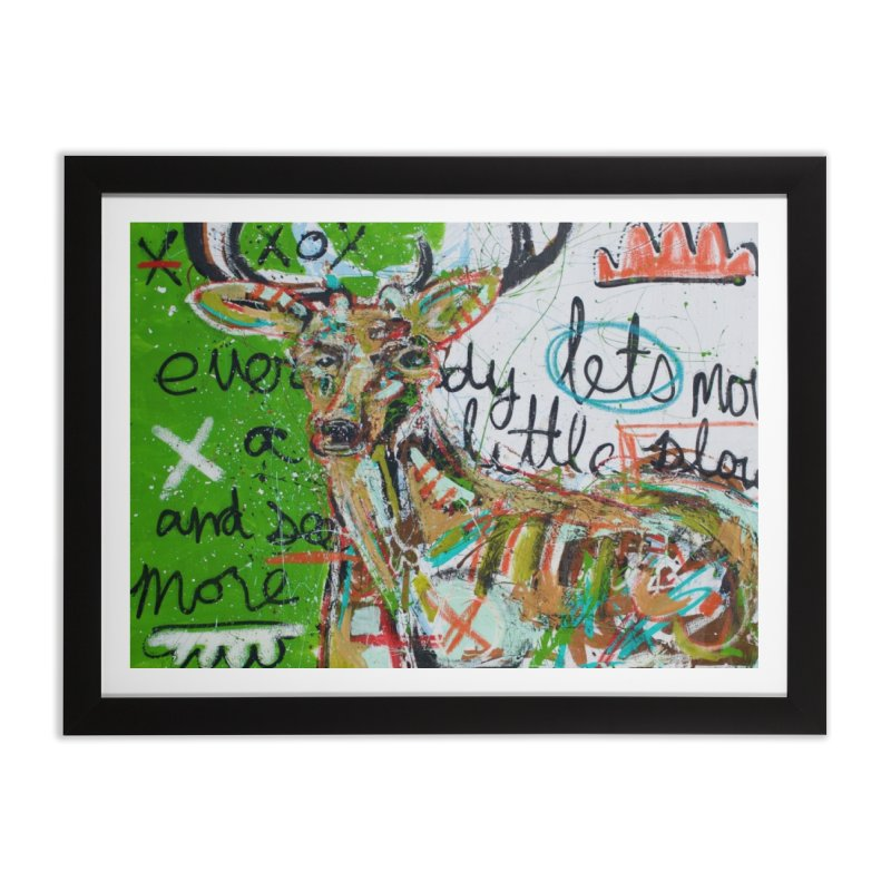 oh dear Home Framed Fine Art Print by stobo's Artist Shop
