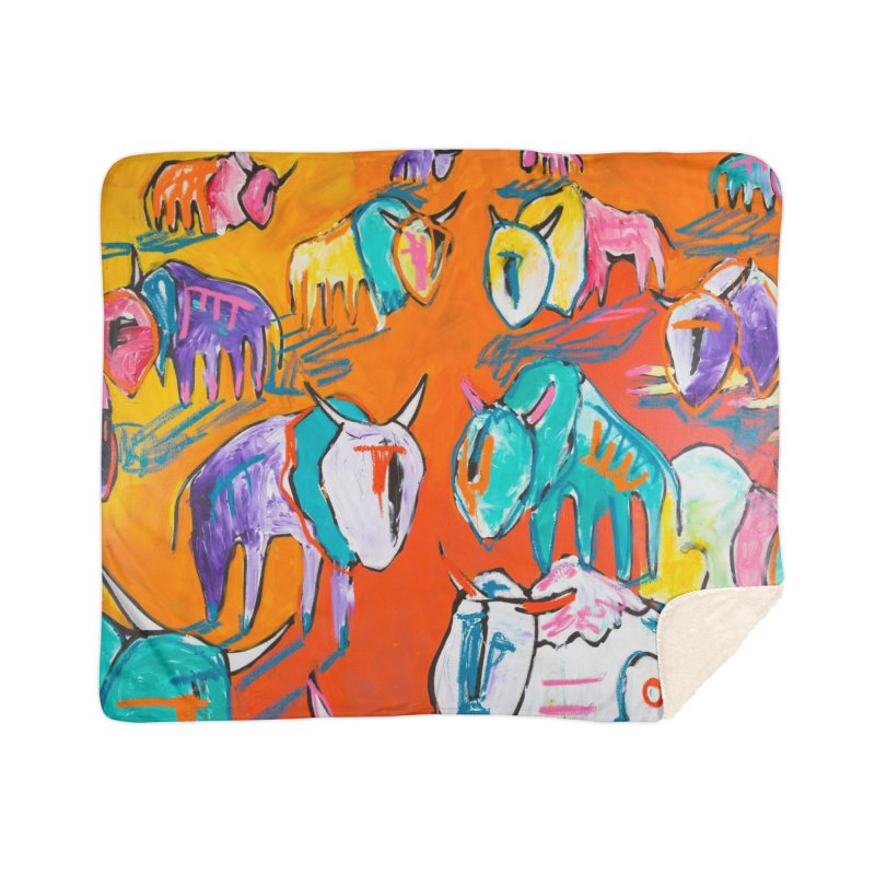 they were family Home Blanket by stobo's Artist Shop