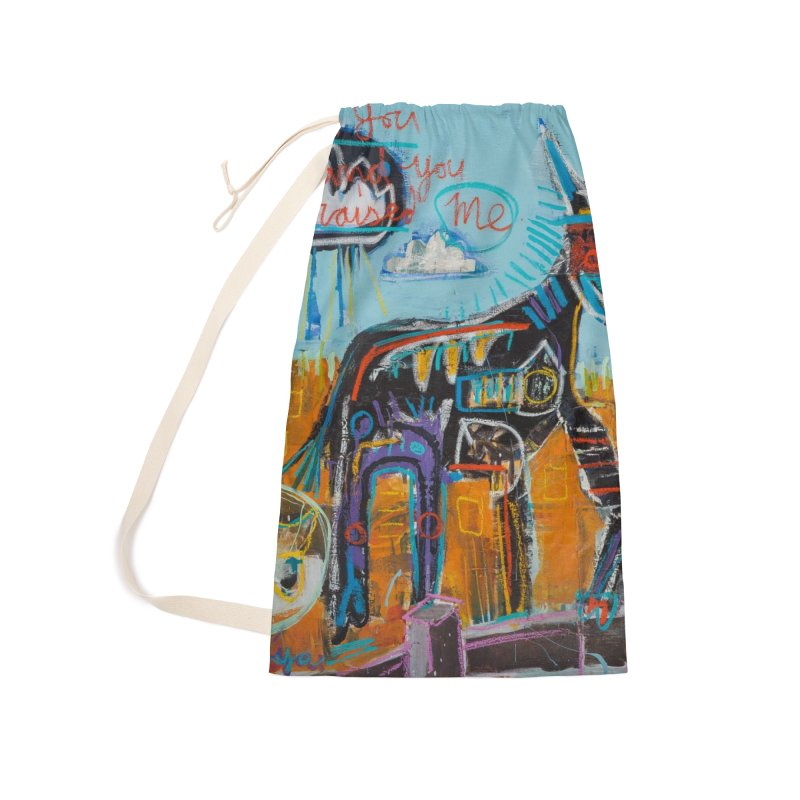 You raised me up Accessories Laundry Bag Bag by stobo's Artist Shop
