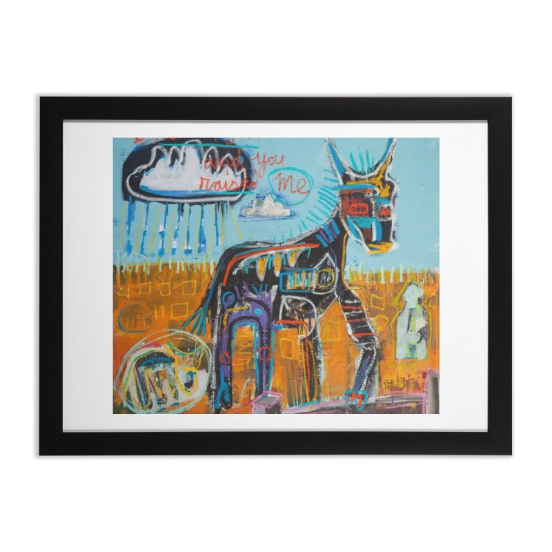 You raised me up Home Framed Fine Art Print by stobo's Artist Shop