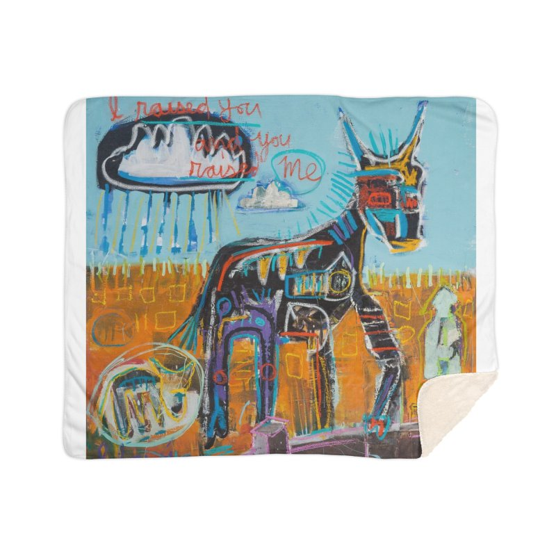 You raised me up Home Blanket by stobo's Artist Shop